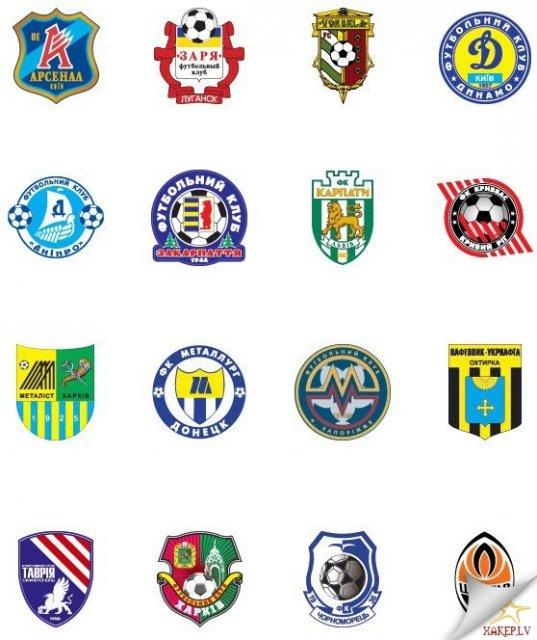 Как сделать эмблемы футбольных клубов